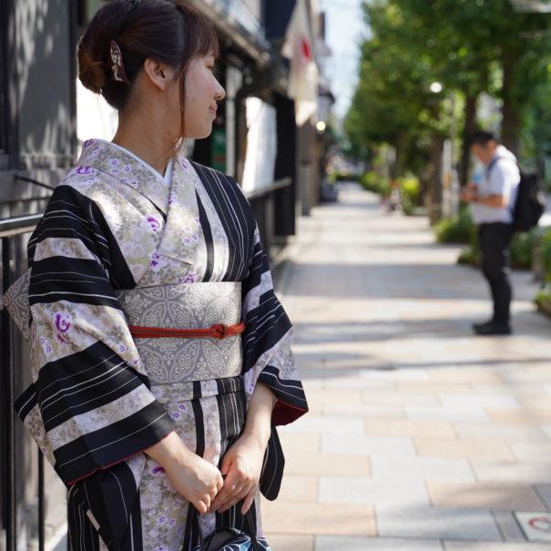 UME SAKURA Casual Kimono Rental