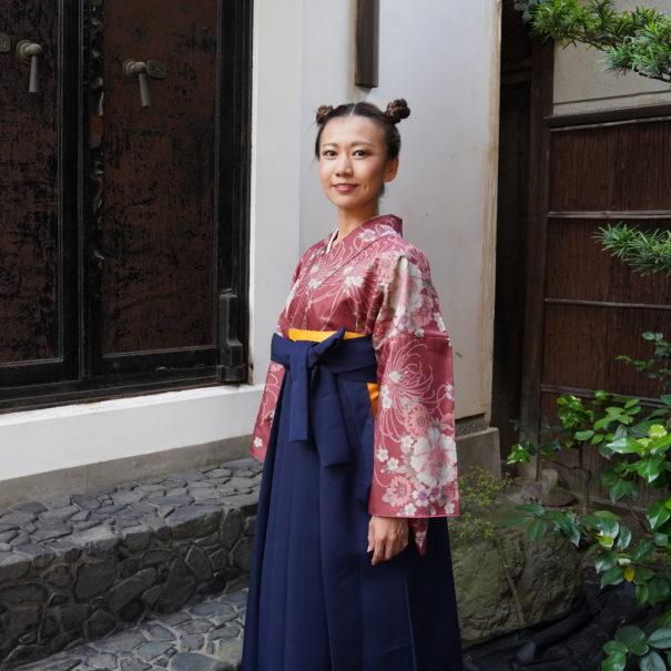 UME SAKURA レトロ袴レンタル