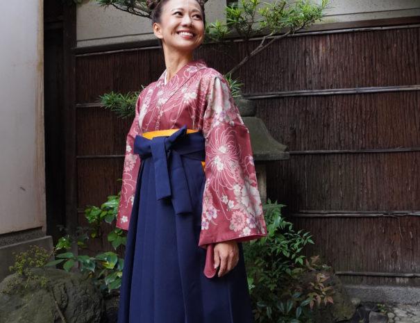 袴レンタル - 京都UME SAKURA