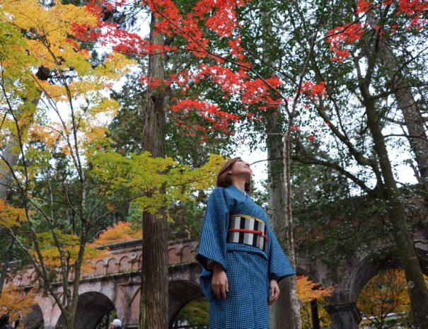 UME SAKURA Kimono Rental Kyoto