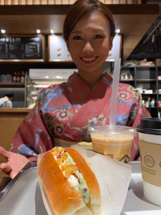 着物でぶらりniko and...COFFEE