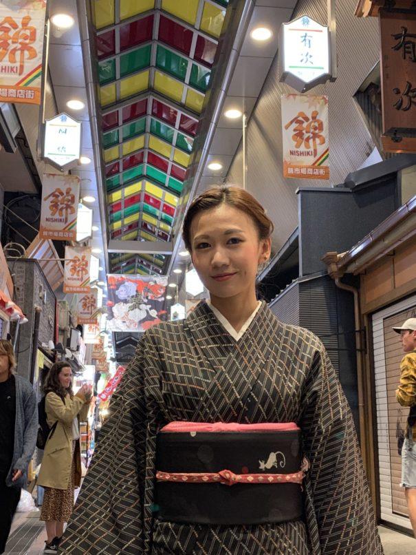 錦市場に近い着物レンタル