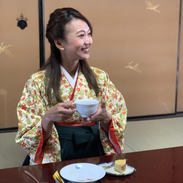 UME SAKURAのおもてなし:コーヒーテイスティング