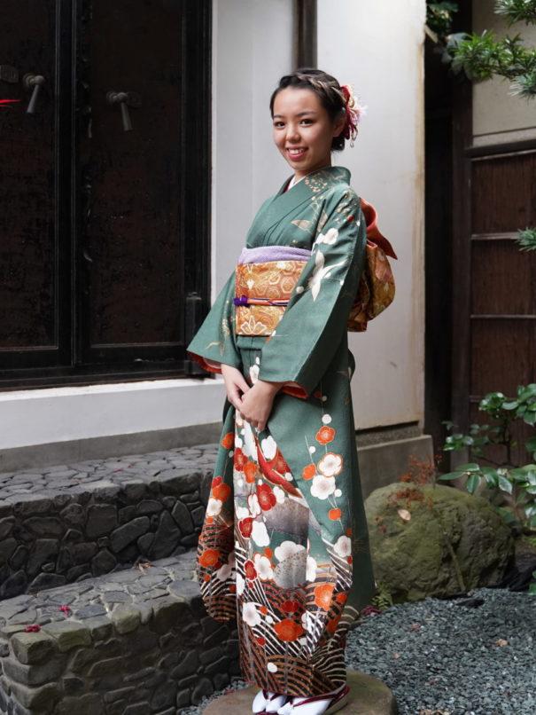 京都で振袖前撮り