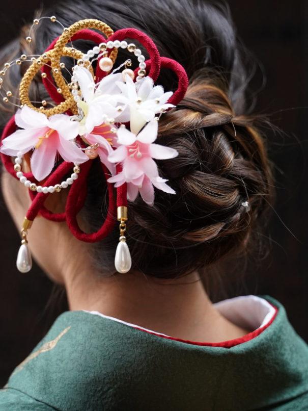 京都振袖前撮りヘアセット無料